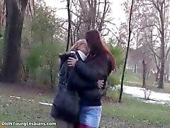 Oude en jonge lesbiennes maken uit part4