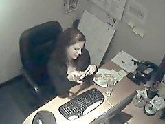 Mon Secretarie Masturbation au bureau