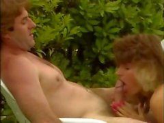 Legendary porn slut Teresa Orlowski invites a few friends for a pool party