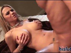Ashlynn Brooke gets rammed by her man