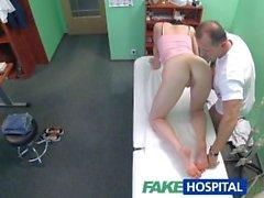 FakeHospital Rus babe Doktorlar cum istiyor