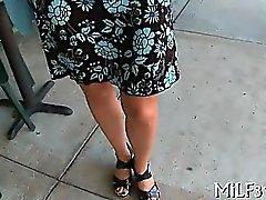 Гидромассажная зрелый Дарлинг получает ее брился меховые круговая на руку