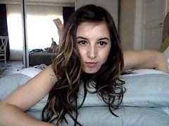 Babe si blowjobjosie diteggiatura su webcam