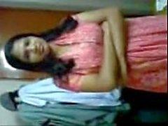 Bengali, collège, girl, premier, temps, sexe, pilote, fuit, mms