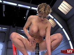 Hot pornstar anal squirt et l'orgasme