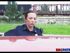 Miami Weibliche Polizei auf dem Prowl