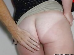 Big Tits Red Head ANAL Glory Hole Slut!