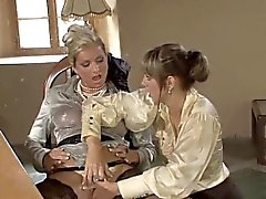 Two horny lesbians have some kinky fun