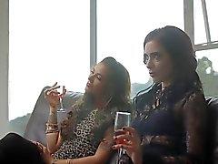 På lesbisk parti