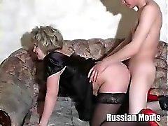 Russian Mom Valia