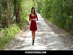 PunishTeens - Petite Подростка Доминирует и трахнул жестком