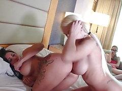 Nipple Fucking Lesbian Ass.