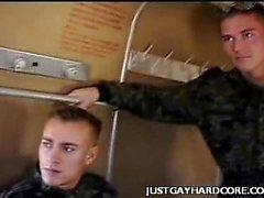 Reizvoller Homosexuell Soldaten