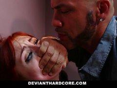 DeviantHardcore - Redhead Gets Caged und Dominiert