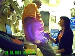 spycam Blowjob Hahn für ihren Chef in photomarket (home Russisch)