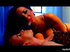 Lesbian fun with Jayden Jaymes and Nikki Rhodes