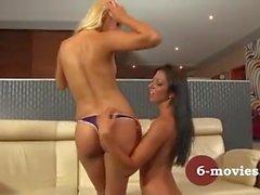 my-sexy-Ort - blond und brünett Private Lesbian Sex