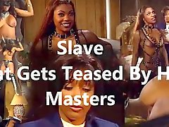 Des Esclaves qui se fait taquinaient maîtres de
