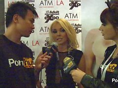 PornhubTV Aaliyah amore Interview in 2 mila quattordici AVN Awards
