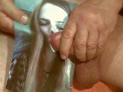 Homenagem para spainspain2012 - cumshot facial