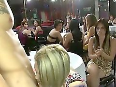 Dansare bli Avsugning hos klubban