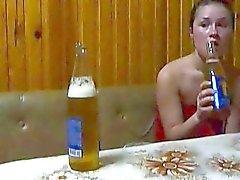 Sexy gf Shelbi wilde dronken sex