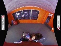 VR Cosplay X Threesome mit Witwenmacher und Tracer