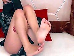 Suhteellinen kosteus - arabiemiirikunnat tyttö showin hänen kaunis jalkaa