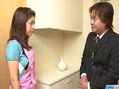 Le temps pour Mafuyu Hanasaki pour profiter d'une bonne baise