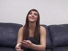 Kaylie On di Backroom Casting Couch ...