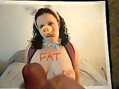 Дань уважения к жировой свинья