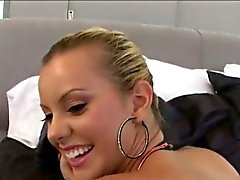 Fake big tits white girl Jessie Rogers analed with big cock