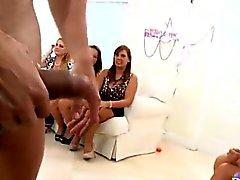 Sexuelles parti de la strip-tease