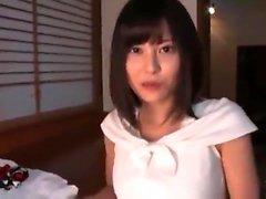 Japanische Amateur-Mädchen mit großen Titten