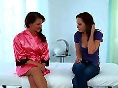 massagem lésbica