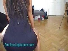 Sexy lapdancer Radka shakes her ass
