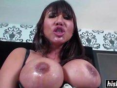 Ava Devine sucks a dick for all its worth