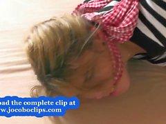 Nytt på jocoboclips - Bundet upp knullat i nöd utomhus