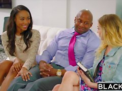 BLACKED Hot Black Paar mit jungen Mädchen
