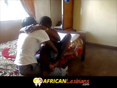 First time amateur African lesbians attack!