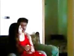 Indiens de Desi police homme appréciant avec ses bp en domicile par pornraja