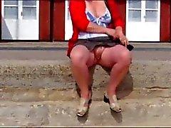 swanage frente à praia