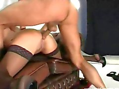 Nederländska Brunette MILF Sex