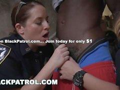BLACK PATROL - Illegale Straßenrennen Schwarze Schläger werden von MILF Cops kaputt gemacht