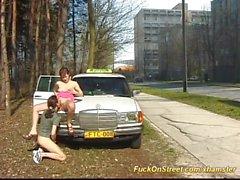 Işte taksi şoförü