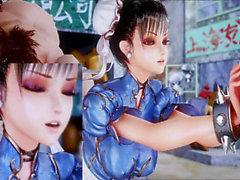 Mozaik : Dövüş Kız Li