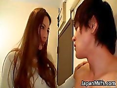 Extreem geil japanse MILFS zuigen part6