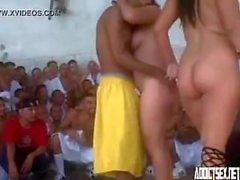 Pornofesta en el Penal de Izalco