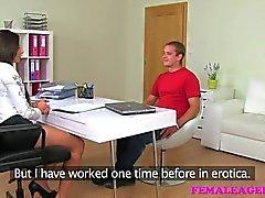 FemaleAgent - Haras fucks et échoue à la coulée
