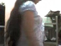 Chica de oficina Srilanka
